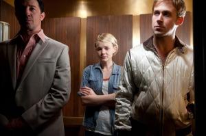 Cena do elevador no filme Drive